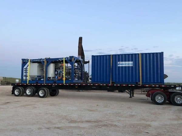 Produced Water Treatment-Mobile H2O Spectrum Lite