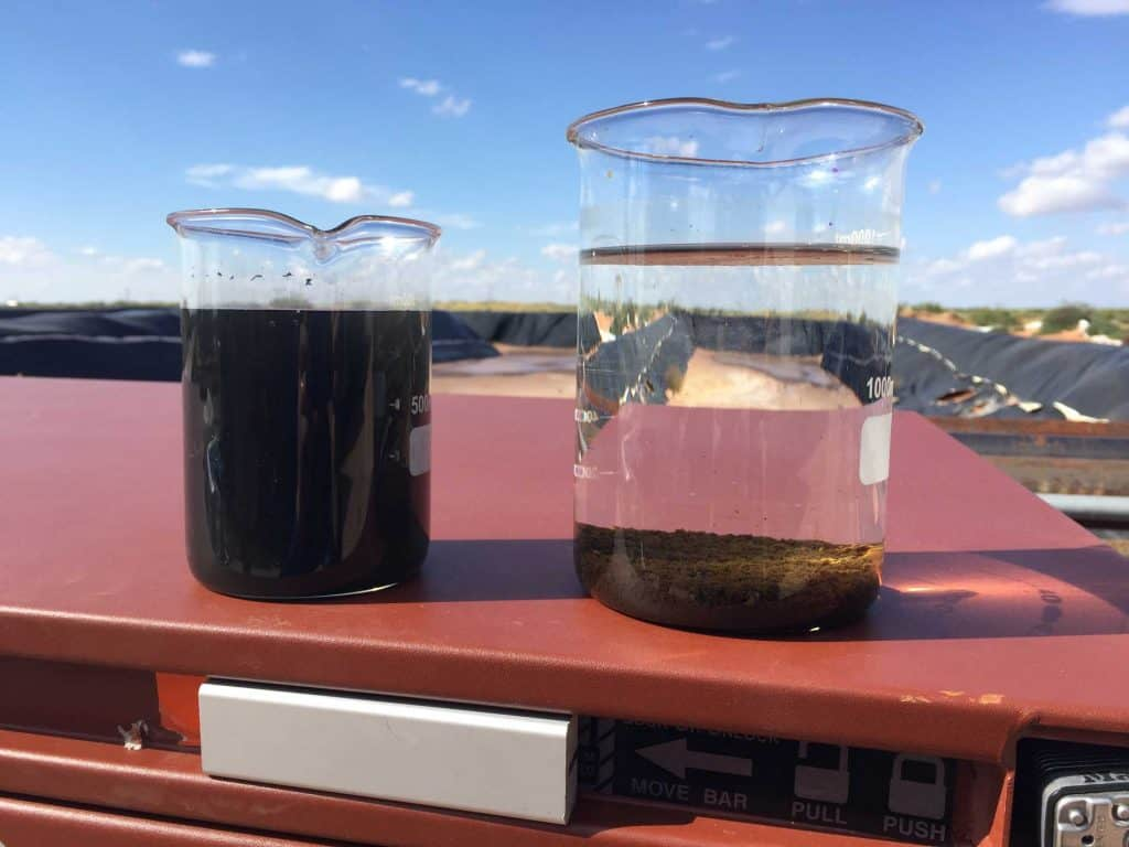 Produced Water Treatment H2O Floc