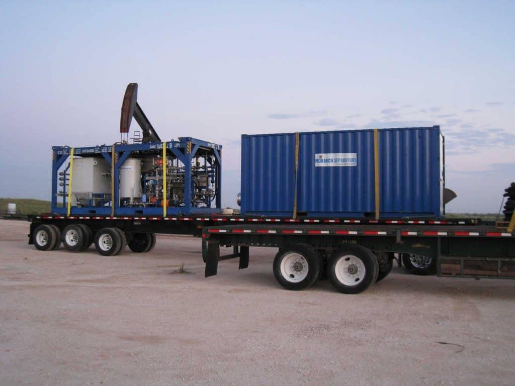 shale water project mobile platform