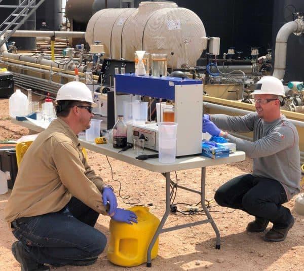 onsite water testing